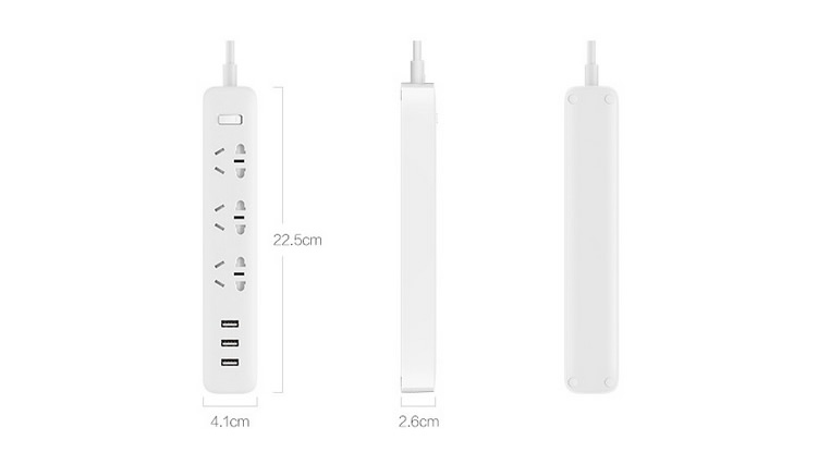 Удлинитель Xiaomi Mi Power Strip Черный